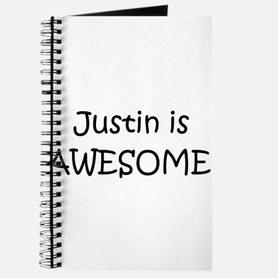 Funny I love justin Journal