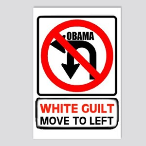 WHITE GUILT Postcards (Package of 8)