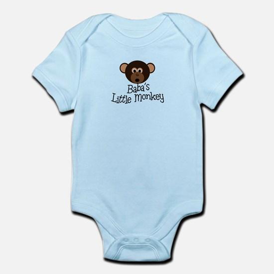 Baba's Little Monkey Boy Infant Bodysuit