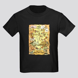 Map of the Fairy Tale Lands T-Shirt