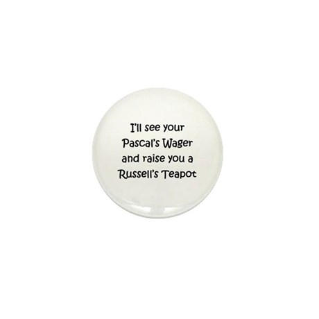 Russell's Teapot Mini Button (10 pack)