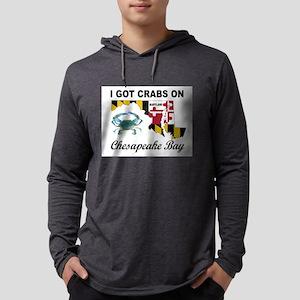 MARYLAND CRABS Long Sleeve T-Shirt