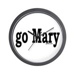 go Mary Wall Clock