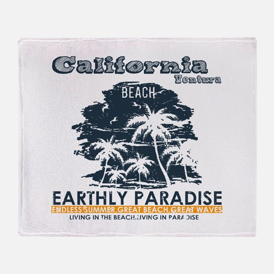 California - Ventura Throw Blanket