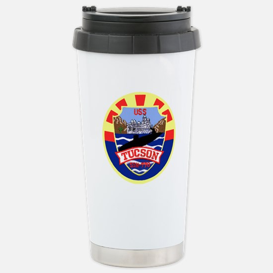 USS Tucson SSN 770 Stainless Steel Travel Mug