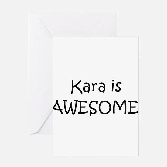 Funny Kara Greeting Card