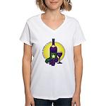 Premier Wines Women's V-Neck T-Shirt
