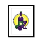 Premier Wines Framed Panel Print