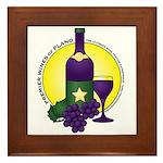Premier Wines Framed Tile
