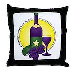 Premier Wines Throw Pillow