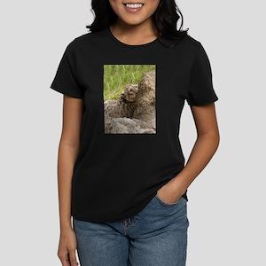 Snow Leopard B001 Women's Dark T-Shirt