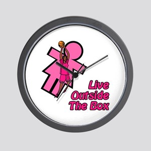 Live Outside the Box Wall Clock