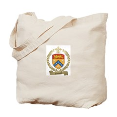 GODBOUT Family Crest Tote Bag