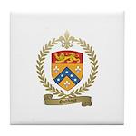 GODBOUT Family Crest Tile Coaster