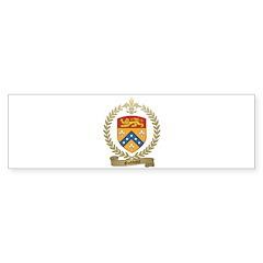 GODBOUT Family Crest Bumper Sticker (50 pk)