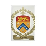 GODBOUT Family Crest Rectangle Magnet (100 pack)