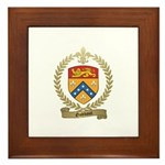 GODBOUT Family Crest Framed Tile
