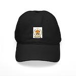 GODBOUT Family Crest Black Cap