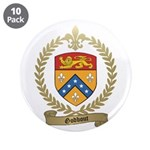"""GODBOUT Family Crest 3.5"""" Button (10 pack)"""