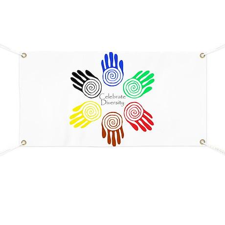 Celebrate Diversity Circle Banner