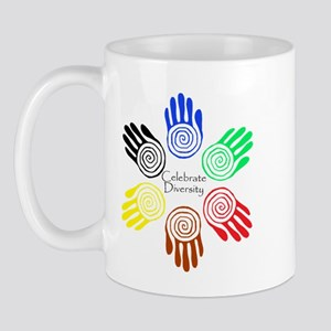 Celebrate Diversity Circle Mug