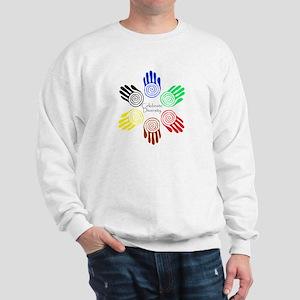 Celebrate Diversity Circle Sweatshirt