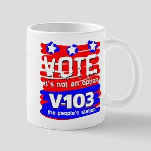 VOTE It's Not An Option Mug