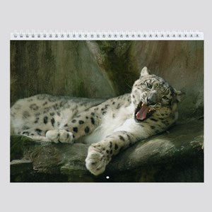 Snow Leopard B003 Wall Calendar