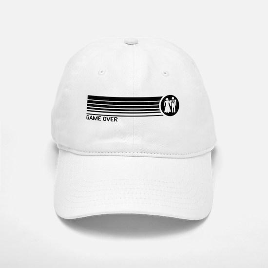 Game Over Wedding Baseball Baseball Cap