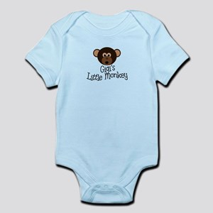 Gigi's Little Monkey Boy Infant Bodysuit