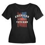 American Veteran Plus Size T-Shirt