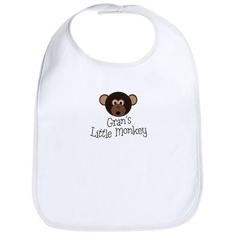 Gran's Little Monkey Boy Bib