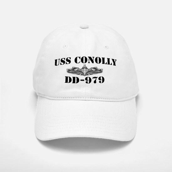 USS CONOLLY Baseball Baseball Cap