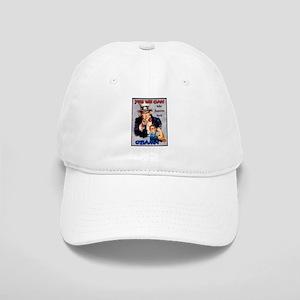 Uncle Sam Rosie Riveter for Obama Cap