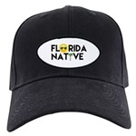 Florida Native Baseball Hat Black Cap With Patch