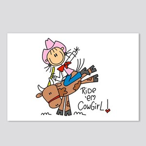 Ride Em Cowgirl Postcards (Package of 8)