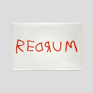 Redrum Rectangle Magnet