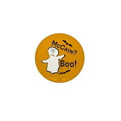 McCain? Boo! Halloween Mini Button
