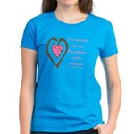 Daughter w/ Autism Women's Dark T-Shirt