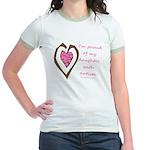 Daughter w/ Autism Jr. Ringer T-Shirt