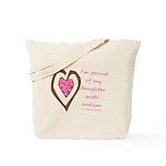 Daughter w/ Autism Tote Bag