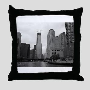 Trump Tower Throw Pillow
