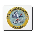 USS CONSTELLATION Mousepad
