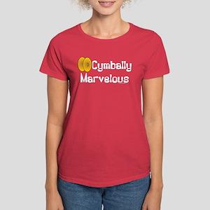 Cymbally Marvelous Women's Dark T-Shirt