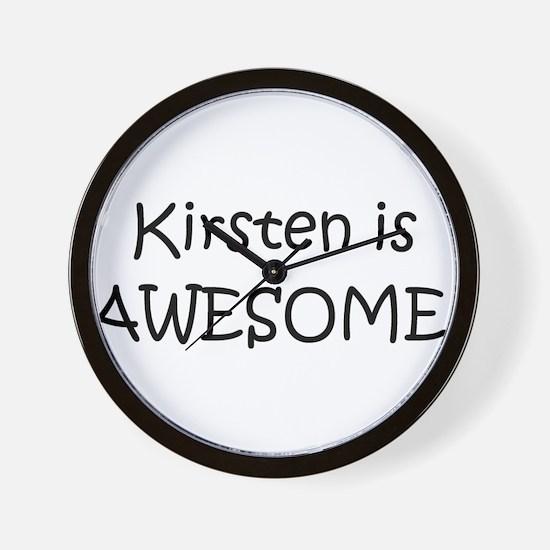 Cute Kirsten Wall Clock