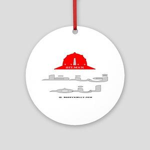 Big Oil Ornament (Round)