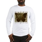 Vibrant Butterfly Art Long Sleeve T-Shirt