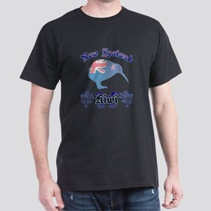 Classic New Zealand Kiwi Dark T-Shirt