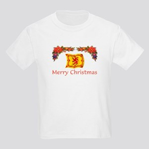 Scottish Merry Christmas 2 Kids Light T-Shirt