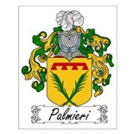 Palmieri Family Crest Small Poster